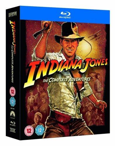 Indiana Jones - The Complete Adventures [Blu-ray] [UK Import]