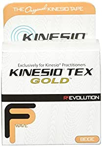 Kinesio Tex Gold Joint Support Bandage, Beige, 3 Inch x 16.4 Feet by Kinesio