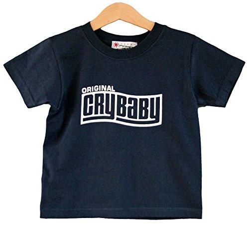 Preisvergleich Produktbild Crybaby Kinder T-Shirt 1-2 Jahre Kids Navy Blau Kurz Ärmel Rocker-T-Shirt