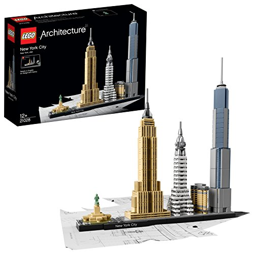 LEGO Architecture 21028 - New York City, Skyline-Kollektion, Bausteine