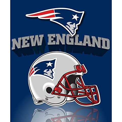New England Patriots Fleece Throw Blanket by Northwest