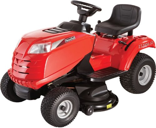 Mountfield 1538M SD Side-Discharge Lawn & Garden Tractor Mower – Free Tow Bar, Mulch Plug and Multi-tool easy grip.