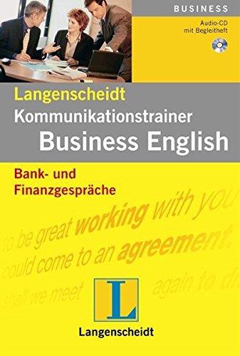 Bank- und Finanzgespräche - Audio-CD mit Begleitheft (Langenscheidt Kommunikationstrainer Business...