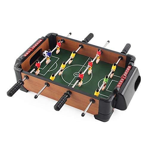 Sipobuy Mini Table Top Football Futbolista Jugadores Juego Familiar Divertido Juego de niños Juego de niños Regalo de cumpleaños de Navidad de Navidad, 15x13.2x3.6 Pulgadas