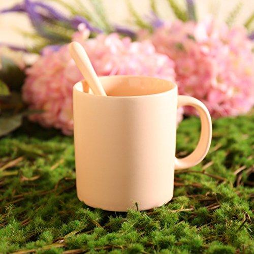 SSBY 420Ml À Grande Capacité Créatrice Européenne Céramique Couleur Frosted Simple Tasse Tasse À Café BonbonsD