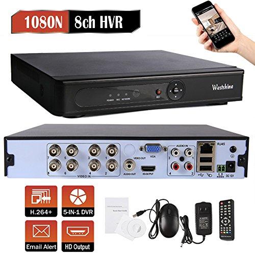 Sicherheit 5mp-kamera (Westshine 8 Kanal 1080N Digitaler Videorekorder CCTV Netzwerk DVR H.264 HDMI Video Wiedergabe für Sicherheit Überwachung Kamera)