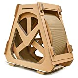 YSSY Riesenrad Cat Climbing Frame, Laufband aus Wellpappe, Cat Toy Claw Board