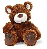 Nici 41493 Classic Bear Kuscheltier Bär Dunkelbraun, 25 cm