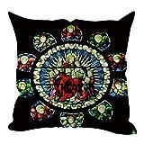 JMETRIC Modern Style Paris Notre Dame Linen Hug Pillowcase Home Decoration 45x45cm18 x18