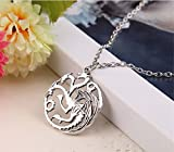 #6: ITS - Fashion The Song Of Ice And Fire Game Of Thrones Dragon Necklaces For Men Women