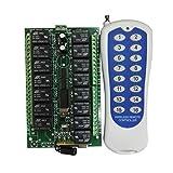 Schalter - SODIAL(R) DC 12V 15-Kanal 500M Set Funkfernbedienung Schalter Taster Modul Kontrolle