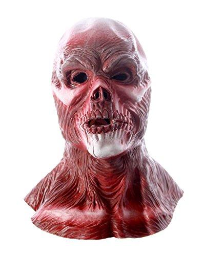 CENO.COM Monster Maske Monstermaske Dämonenmaske Dämon Horrormaske Halloweenmaske