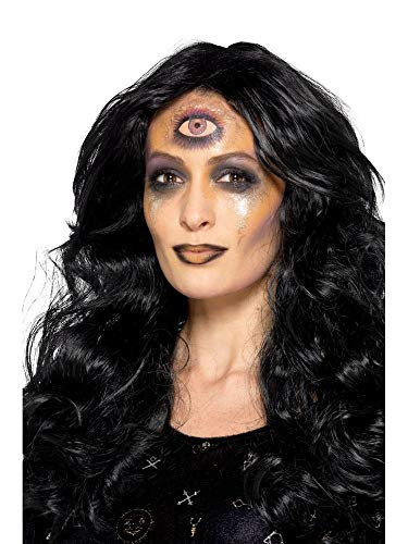shoperama Professionelles 5-teiliges Schmink-Set Wahrsagerin Seherin Auge Make-up Schminke FX Halloween Karneval Fasching