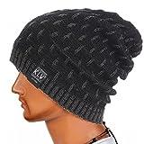 Kobay Männer Frauen Warm Crochet Winter Wolle Knit Ski Beanie Skull Slouchy Caps Hut