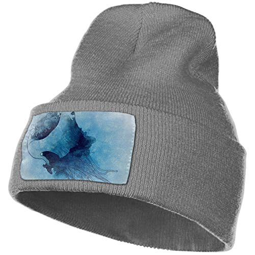 Dsarqwe Winter Hats Wool Knit Slouchy Beanie Warm Hat Baggy Skull Cap -Gear was Spotted with Iron (Beanie Was Slouchy)