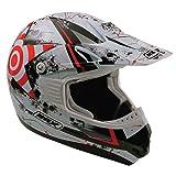 Box MX-5Diana casco Motocross, rojo