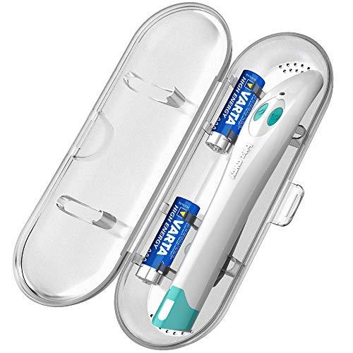 Bite Away Reiseetui, Für ein Bite Away Elektronischer Stichheiler und zwei AA Batterien (Bite Away nicht erhalten) - Transparent