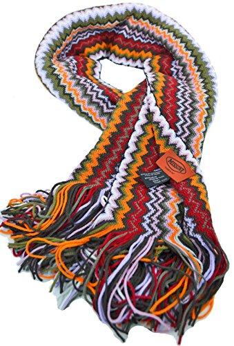 Scarf Missoni шарф Women Men 100% genuine Made in Italy Sciarpa 4912 var0002
