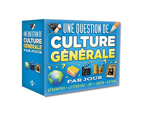 Une question de culture générale par jour 2015