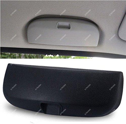 Preisvergleich Produktbild ICTRONIX Schwarz Sonnenbrillenhalter Ersatzteile Brillenfach Ablage Brillenetui Käfig Aufbewahrungsbox für Mercedes-Benz GLK,GLC,GLE,A B E C-Klasse 2011-2015