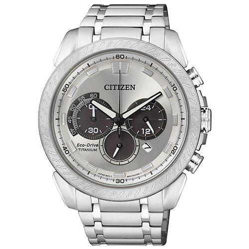 Citizen supertitanio crono eco drive ca4060-50a - orologio da polso uomo