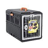 Lppanian Scatola di Trasporto pel Animali Casella di Controllo Aereo Pieghevole pel Cane Box Aereo Pet Cane Alice Car Pet Cage