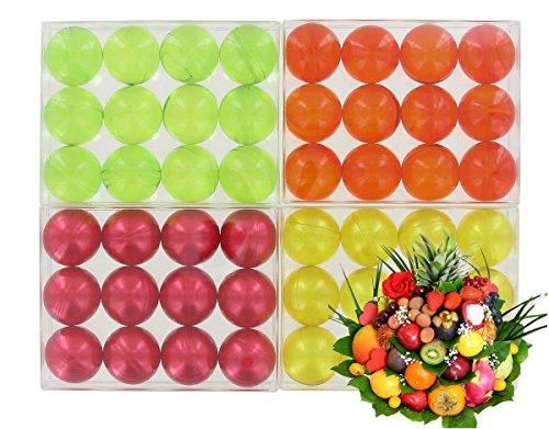 Scopri offerta per 4scatole di 12perle da bagno-frutta lotto