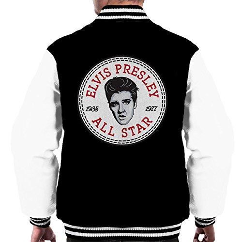 Elvis Presley All Star Converse Logo Men's Varsity Jacket (Sweatshirt Elvis)