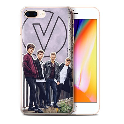 Offiziell The Vamps Hülle / Case für Apple iPhone 8 Plus / Mappe Muster / The Vamps Doodle Buch Kollektion Ausgeschnitten