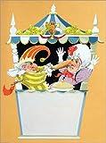 Posterlounge Stampa su Alluminio 100 x 130 cm: Punch And Judy Show with Judy di Anne & Janet Johnstone/Bridgeman Images