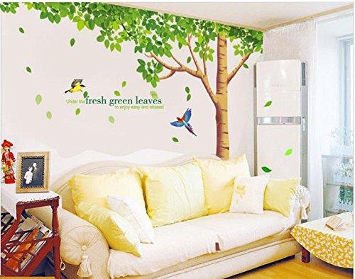 rainbow-fox-albero-adesivo-da-parete-per-adesivo-da-parete-per-soggiorno-con-riproduzione-di-albero-