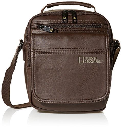 National Geographic , Borsa Messenger , nero (nero) - N00813-06 Marrone