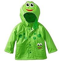 MEIHAOWEI Boys Girls Jacket Frog Insect Jackets Wind Waterproof Raincoat