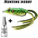 #5: Top Water Frog With Hook Use In Fishing Rod,Reel