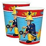 Feuerwehrmann Sam - Party Geburtstag Becher Trinkbecher 8 Stk.