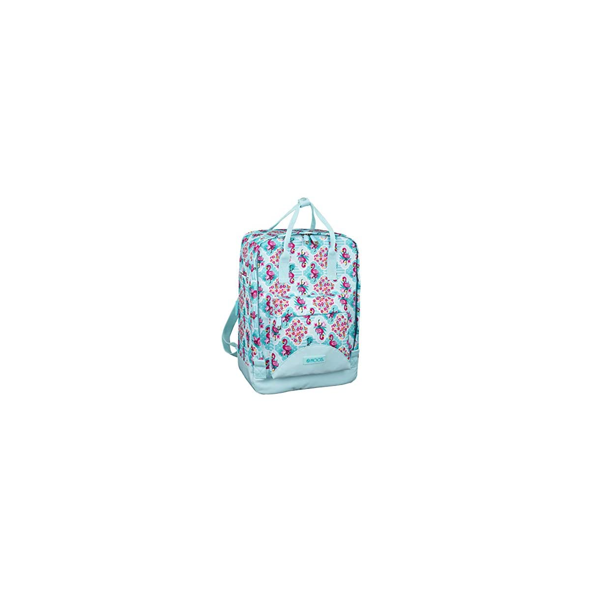 51%2B1UMPVpdL. SS1200  - Moos  Flamingo Turquoise Oficial Mochila Con Asas, 270x130x380mm