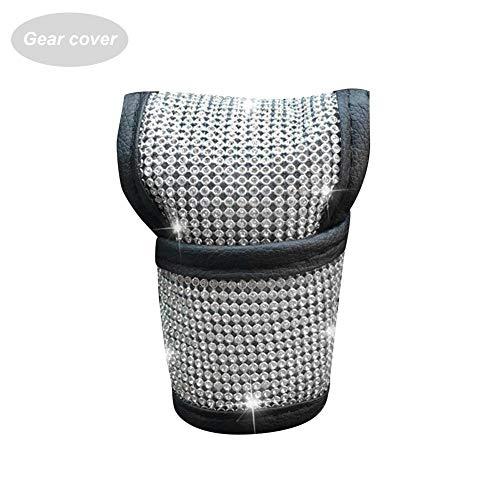 Bling Bling Auto Shift Gear Abdeckung, Glanz Kristall Auto Knob Gear Stick Protector Diamant Auto Dekor Zubehör für Frauen