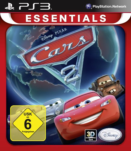 Cars 2 - Das Videospiel [Essentials] - [PlayStation 3] (Ps3-disney-universum)