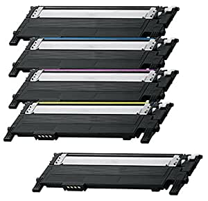 Prestige Cartridge CLT-404S Kit 5 Toner compatibili per Samsung Xpress SL-C430W, SL-C480FW, SL-C480W, SL-C480FN