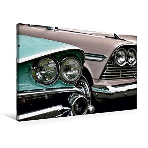 Calvendo Premium Textil-Leinwand 75 cm x 50 cm quer, Dodge Coronet & Plymouth Belvedere   Wandbild, Bild auf Keilrahmen, Fertigbild auf echter Leinwand, Leinwanddruck Mobilitaet Mobilitaet
