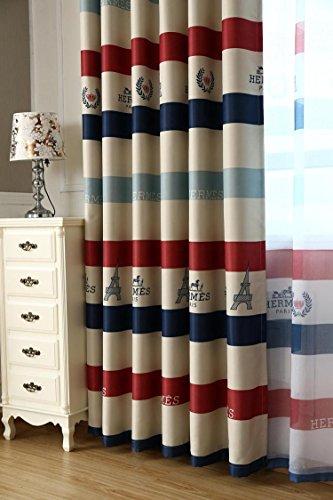 gzq Vorhänge mit Ösen Blackout Windows Vorhänge Behandlung Ring Top Deko für Home Wohnzimmer Mädchen Jungen Schlafzimmer 1Panel 149,9x 259,1cm multi - Vorhang-panels Jungen