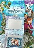 Disney Frozen classeur de collection; ce kit comprend: guide du collectionneur, tapis de jeu, classeur de rangement, 1 paquet de cartes, 1 étui de cartes double, 1 carte édition limitée
