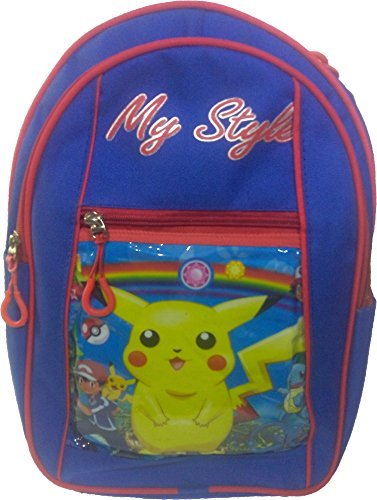 Pokemon, Pikachu, Ben Ten 10, Spider Man, Super Man, Barbie, Dsiney Princess Cindrella Children's / kid's Backpack, school bag for class / standard pre nursery, LKG, UKG, first 1st, second 2nd, third 3rd girls and boys  available at amazon for Rs.499