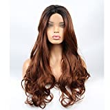 Best Lace Front Wigs - vvBing Synthetic Lone Lace Front Wigs Glueless Brown Review