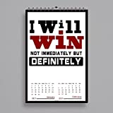 #2: Calendar 2017 | 2017 calendar | wall calendar 2017 | new calendar 2017 | alDivo wall Calendar 2017 | motivational wall calendar 2017