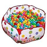 100CM Tente de Jeu Piscine à Balles pour Enfants avec Sac de Rangement (Balles Non...