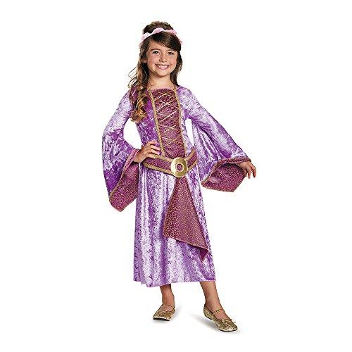 Renaissance Maiden Kind Kostüm - Disguise Renaissance Maiden Large