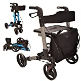 Best Rollator Walkers - X Cruise Folding lightweight compact rollator walking frame Review