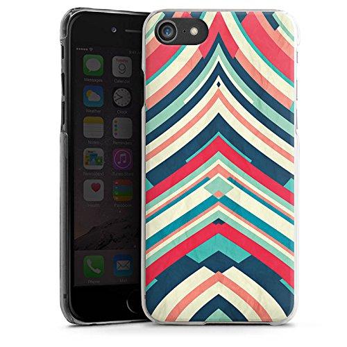 Apple iPhone X Silikon Hülle Case Schutzhülle Streifen Muster Gestreift Hard Case transparent