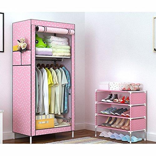 MMM& Simple armoire tissu armoire simple auberge raccords de tuyauterie